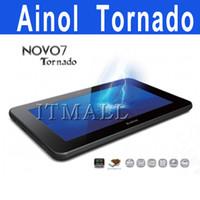 Wholesale Ainol Novo Tornado quot Android Tablet PC Ainol Novo7 Ainol Tornado Ics cream sandwich Tablet PC