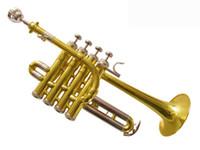 trumpet bb - best US HTR GL Bb piccolo trumpet Bach trumpet three tone trumpet monel piston