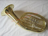Wholesale best venture Bb Euphonium four flat keys Franch horn manufacturers direct