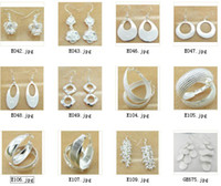 Wholesale Jewelry Manufacturer mixed pair earrings sterling silver jewelry factory price Fashion