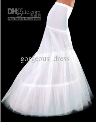 Cheap Wedding Dress Mermaid Train Petticoat  Free Shipping ...