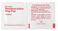 Wholesale Antiseptic Povidone Iodine Prep Pad Outdoor PSK Survival First Aid Kit