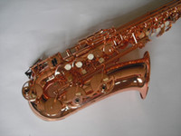 Wholesale best arrive High grade red bronze color alto saxophone with case in stock
