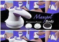 Wholesale Professional Massager Handheld Full body Massage Fat Remove Slim Machine Set Head US Plug V