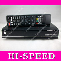 Wholesale New arrival original Skybox F3 HD P Dual core CPU digital satellite receiver DHL