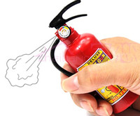 Wholesale Funny Plastic Kids Toy Air Pressure Water Gun Super fire extinguisher shaped beach spray fun Squirt