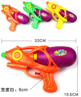 Model Number 16710756913   5PC lot Funny Plastic Kids Toy Air Pressure Water Gun Super beach spray fun Squirt play toys