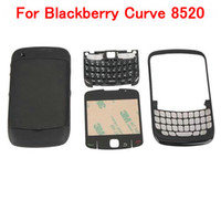 Wholesale Replacement Full Housing Curve For Blackberry Black M00069