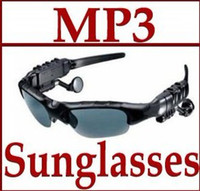 Wholesale Sunglasses GB Headset Headphone Mp3 Player Sun Glass