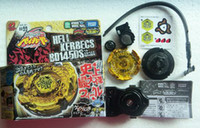Wholesale 24 Takata Tomy D BB99 HELL KERBEGS JAPANESE Metal Fusion beyblade Freeshipping