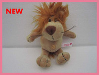Wholesale 2012 New arrival lovely NICI cm Cute Lion Stuffed Plush Toy with Sucker plush dolls small gifts
