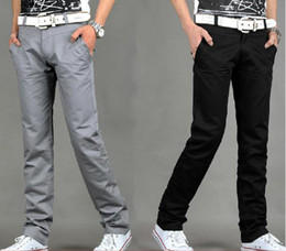 Wholesale The latest men s casual pants cultivating male pants straight
