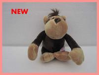 small stuffed animals - 200pcs New arrival lovely NICI cm Cute Orangutan Stuffed Plush Toy with Sucker dolls small gifts