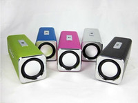 Wholesale Sports MP3 Player Mini Mobile Music Speaker Portable Sound box Boombox with TF Card reader USB FM
