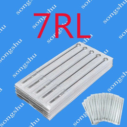 Wholesale 50x RL Best Quality Tattoo Sterilized Needles Tattoo Kits Supply Round Liner Beauty Tools