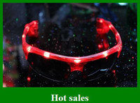 Wholesale hot sales Flash Light emitting glass Men s LED glasses women party birthday gifts