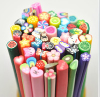 Wholesale Nail Art Stickers Canes Stickers Rod Fimo Decorate Fruit And Flower Cutted China s postal