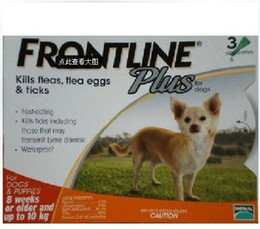 Wholesale 30pcs FRONTLINE PLUS FOR LBS pc of ml Dog Flea and Tick Remedies box