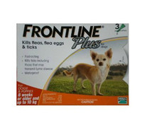 Wholesale 6pcs FRONTLINE PLUS FOR LBS pc of ml Dog Flea and Tick Remedies box