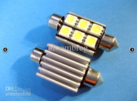 Wholesale 36MM mm mm canbus smd Anti Error Free Led Car Light Festoon Dome blub Lamp V DC White