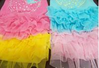 Dresses Spring/Summer  free shipping high quality Dog Apparel pet summer dress dog dress 4 colors