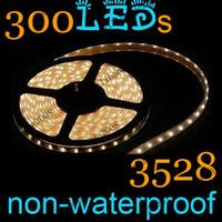 Wholesale 5pcs E91 Warm White LED Strips Flexible Tape Light M LED M LED Non waterproof IP20