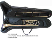 Wholesale best music HY DN Professional Tuning Slide Trombone Bb F W Trigger Case in stock