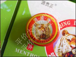 Wholesale essential balm tiger balm Chinese traditional herb balm Essential Balm for treatment of influenza c