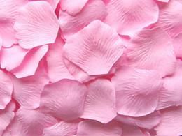 10 bags Pink silk rose petal petals wedding favors party decoration 1000 pcs