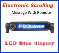 Wholesale Blue LED CAR SIGN LIGHT MESSAGE SCROLLING display With Remote Control