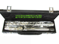 Wholesale The French order FL C slive plated flute C tone hole E key been selled directly from factory
