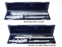 Wholesale top joint FL BE slive plated flute C tone closed pore E key B tail key factory