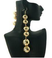 Women's wholesale basketball wives earrings - NEW MM LENGTH Lantern iron tennis earrings basketball wives earrings COLORS PAIRS