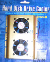 Wholesale Hot Hard Disk Cooler Cooling Fan for inch PC HDD Hard Disk Drive