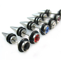 Wholesale Ear Ring Body Jewelry Mix Long Industrial Bar Barbell Ear Ring Rings Body Piercing Jewelry new