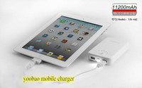 Wholesale 11200mAh charger Yoobao Long March power Bank with LED light Double output functions for mobile sets
