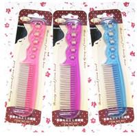 Wholesale FreeShip Piece Mixed Wig Hair Steel Comb Wig Special Anti static comb Hair Tool In Retail Package
