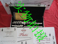 Wholesale hot new suzuki silver flutes hole closed pore C tone in stock