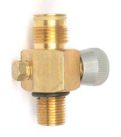 Wholesale New paintball CO2 Tank On Off Pin Valve