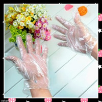 Wholesale 2000pcs Housework Cleaning Disposable Gloves Household Cleaning Tools Sanitary DIY Safety Plastic