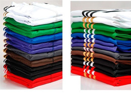 Wholesale Casual Men s Women s suits long sleeve tracksuit pants a suit of trousers Black White Green Brown Red Blue Purple