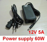 Wholesale 12V A W Power Supply Driver Switch For LED Strip AC V V US UK AU Europe