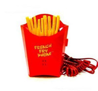 Wholesale Creative personality novelty french fry phone cartoons telephone
