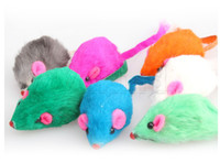 Wholesale Lovely Funny Cute Bright Coloured Little Mouse Toys For Pets Brand New Hot