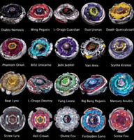 Wholesale Beyblade Metal Fusion D System LOOSE Battle Top Set masters Styles Can choose kids game toys