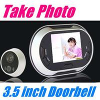 door - 3 inch LCD Digital Video Door Viewer Peephole Doorbell Security Camera video door phone intercom