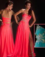 Halter apple natural stone - New style Cassandra Stone A beautifully Prom Dress halter beaded straps Chiffon Evening Dress