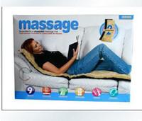 Wholesale 5pcs wool double amphibious Motor Massage Mat With Soothing Heat