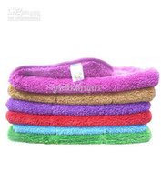 Wholesale Microfiber Household Furniture Cleaning Towels Square Cleaning Pads Multicolors DN110
