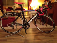 Wholesale Cervelo S3 carbon road frame and fork black and red carbon bicycle bike parts look986 look695 rb1000 c60